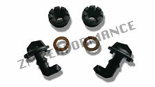 NEW POLARIS RZR 800 900 PLASTIC HOOD LATCH TOGGLES WITH GROMMETS AND WASHERS KIT