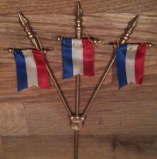 Grand trident à 3 Fanions tricolore pour les manèges JEP et JL ...