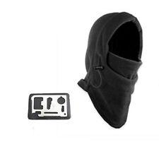 Sporting Survival Kit Knife Card Winter Ski Mask Beanie Emergency Gear Hats