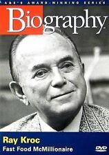 NEW Biography - Ray Kroc: Fast Food McMillionaire (2005) (DVD)
