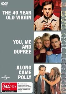 The 40 Year Old Virgin  / You, Me And Dupree  / Along Came Polly (DVD)