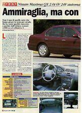 Z95 Ritaglio Clipping 1996 prova Nissan Maxima QX 2.0i 6V 24V automatica