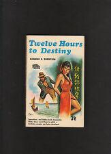 Vintage.U.K.Pb.Crime Thriller 12 Hours To Destiny.Badger Spy Book#6