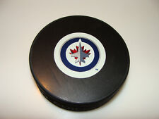 NHL Hockey Winnipeg Jets Autograph Model Puck Sher-wood Perfect for Autos New