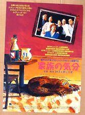 Un air de famille JAPAN CHIRASHI MOVIE MINI POSTER 1997 Cedric Klapisch