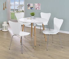 Chrome Kitchen & Dining Tables with Flat Pack