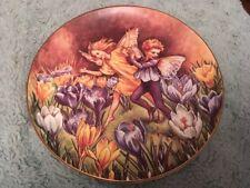 BFA The Crocus Fairy Collectors Plate Festival Flower Fairies Cicely Mary Barker