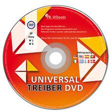 Universal Treiber CD für Windows XP-Vista-W7 - W8 - W10
