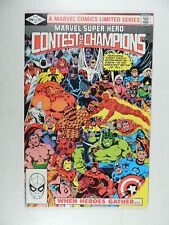 "1982 MARVEL COMIC SUPER HEROES COMIC BOOK  ""CONTEST OF CHAMPIONS""  #1"