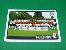 N°271 TEAM FULHAM ENGLAND MERLIN PREMIER LEAGUE FOOTBALL 2007-2008 PANINI