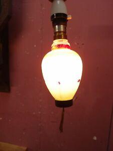 ORIGINAL 1950s VINTAGE RETRO CHINESE LANTERN LIGHT BULB WORKING ORDER