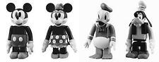 MEDICOM Disney KUBRICK MICKEY MINNIE MOUSE DONALD DUCK GOOFY 2+2 Set Bearbrick