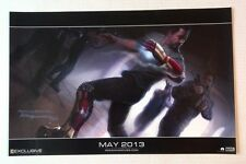 "2012 SDCC Exclusive - Marvel - Iron Man 3 - Promo Poster DISNEY 20"" x 13"""