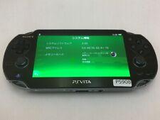 P5908 Sony PS Vita PCH-1000 console Crystal Black Japan x Express