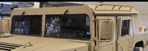 GREY TINTED WINDSHIELD (BOTH HALVES) - MILITARY HUMVEE M998 NEW  HUMMER H1