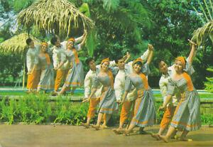 Philippines 1980 pictorial postcard-Folk Dancers