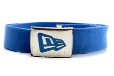 New Era Mens Fabric Webbing Belt Blue One Size