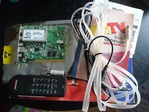 Hauppauge WinTV PCI-FM in OVP mit Zubehör