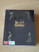 The Godfather Trilogy (45th Anniversary 'Omerta' Ed) (NEW, Blu-ray, 4-Disc Set)