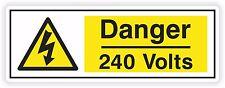 1x Danger 240 Volts Sticker #01