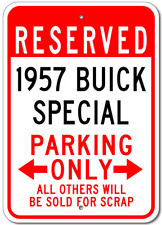 1957 57 BUICK SPECIAL Parking Sign