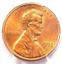1992-D Lincoln Cent Penny Close AM Variety FS-901 - PCGS AU58 - $2,250 Value!