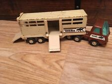 TONKA camion et remorque pour chevaux
