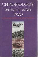 CHRONOLOGY OF WORLD WAR TWO 286 PAGES ILLUSTRATED MILITARY 286 PAGES