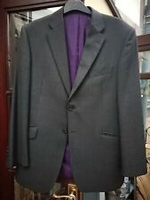 Marks & Spencer 100% Pure Wool Luxury Grey Suit Jacket Size 42in 107cm Medium