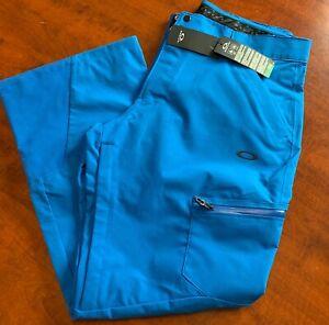 Brand New Electric Blue Oakley SKI SHELL Pant 10K 2L sz L- XXL