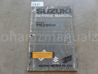 July 1971 Suzuki T5250R Service Manual OEM