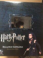 GENTLE GIANT HARRY POTTER BELLATRIX LESTRANGE BUST NEW/SEALED/MINT - 427/2500