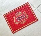 Free Shipment Red STELLA ARTOIS Rubber bar mat spill mat bar runner drip mat