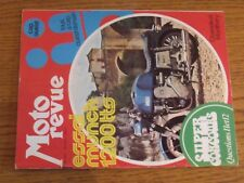 $$$ Moto Revue N°2127 Munch 1200ttoCap OuestCharade et Montlhery