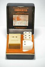 VINTAGE FRANZUS EXTRA POWER TRAVEL CONVERTER KIT CA-1600