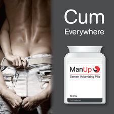 MAN UP SEMEN VOLUMIZING PILLS EXTREME AMOUNT OF CUM GREAT ORAL SEX NOW