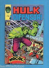 SUPER EROI - HULK E I DIFENSORI -CORNO-N.4-1 MAGGIO 1975-DI RESA (poco visibile)