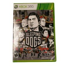 Microsoft Xbox 360 Sleeping Dogs Video Game (Complete, 2012)