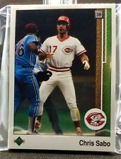 1989 Upper Deck Cincinnati Reds Team Set - Includes High Number Cards 31 Cards