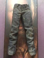 ThreeZero The Walking Dead TWD Rick Grimes Black Jeans loose 1/6th scale