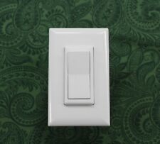 MOBILE HOME PARTS SELF CONTAINED DECORATOR (TOGGLE) LIGHT SWITCH - WHITE