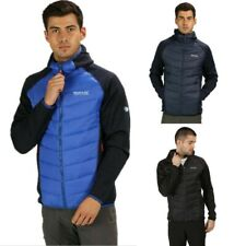 REGATTA MENS ANDRESON IV LIGHTWEIGHT INSULATED HYBRID JACKET BLUE BLACK RMN127