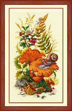 Counted Cross Stitch Kit GOLDEN HANDS - On the edge