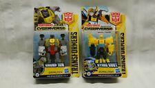 Lot of 2 Transformers Cyberverse Action Attackers Grimlock & Bumblebee NIP