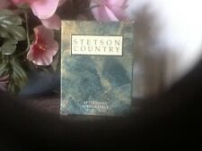 STETSON COUNTRY AFTERSHAVE FOR MEN 1.0 OZ *NEW In Box