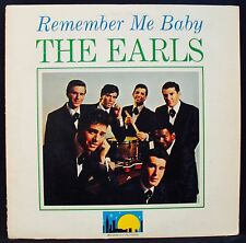 THE EARLS • Remember Me Baby • A Classic Doo Wop Album-WOODBURY #W 104 reissue