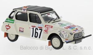 Modellino auto rally scala 1:43 Ixo CITROEN DYANE RALLYE PARIS DAKAR diecast