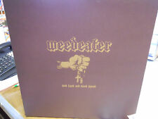 WEEDEATER USED LP GOD LUCK AND GOOD SPEED SOUTHERN LORD SUNN 82 BROWN VINYL N/M