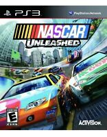 NASCAR Unleashed PlayStation 3,PS3 Kids Game Professional Car Racing Collectible