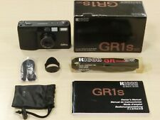 Ricoh GR1s 28mm f2.8 – w/ box, case, manual from Japan GR/GRD/GR21 (NEAR MINT)